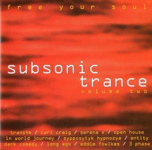 Cover - Dark Comedy: Subsonic Trance Volume Two