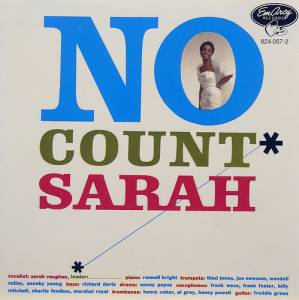 Cover - Sarah Vaughan: No Count Sarah