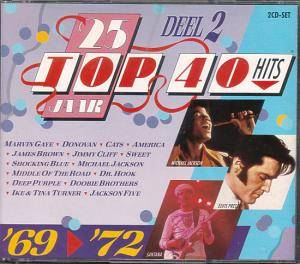 Cover - Jane Birkin & Serge Gainsbourg: 25 Jaar Top 40 Hits - Deel 2 '69 - '72