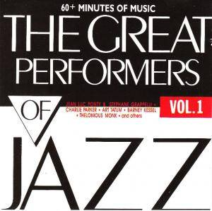Great Performers Of Jazz Vol.I, The - Cover