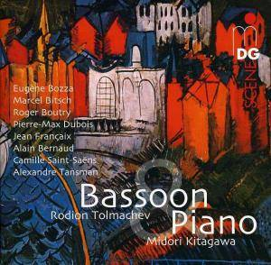 Cover - Alexandre Tansman: Bassoon & Piano