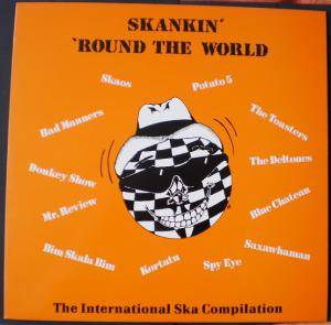 Skankin' 'round The World - Cover