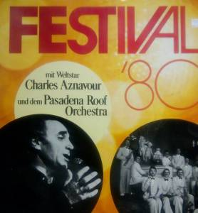 Cover - Pasadena Roof Orchestra, The: Festival '80