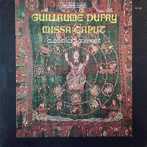 Cover - Guillaume Dufay: Missa Caput