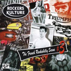 Cover - Four Aces, The: Rockers Kulture - The French Rockabilly Scene # 3