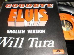 Cover - Will Tura: Goodbye Elvis