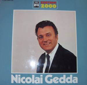 Cover - Nicolai Gedda: Edition 2000
