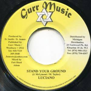 Cover - Luciano: Stand Your Ground