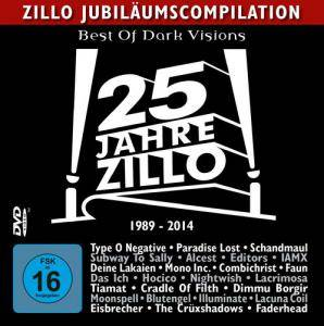 Cover - Gallery, The: Best Of Dark Visions - Zillo DVD 12/2013