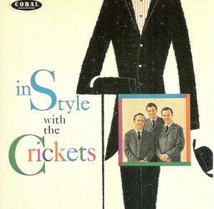 Cover - Crickets, The: In Style With The Crickets