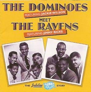 Cover - Ravens, The: Dominoes Meet The Ravens, The