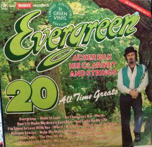 Cover - Acker Bilk: Evergreen 20 All Time Greats