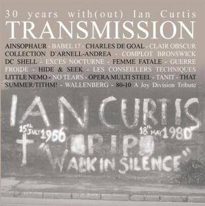 Cover - Collection d'Arnell~Andréa: 30 Years With(Out) Ian Curtis Transmission 80-10