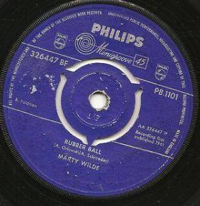Cover - Marty Wilde: Rubber Ball