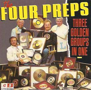 Cover - Four Preps, The: Three Golden Groups In One