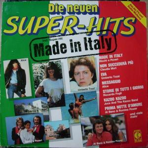 Neuen Super-Hits - Made In Italy, Die - Cover