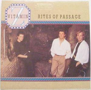 Vitamin Z: Rites Of Passage - Cover