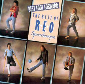 REO Speedwagon: Best Foot Forward - Cover