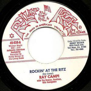 Cover - Ray Campi: Rockin' At The Ritz
