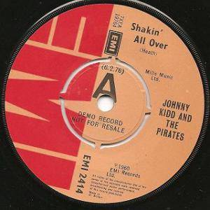 Cover - Johnny Kidd: Shakin' All Over
