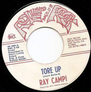 Cover - Ray Campi: Tore Up