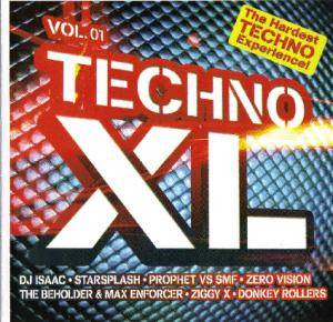 Cover - Beholder & Max Enforcer, The: Techno XL Vol. 01