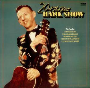 Cover - Hank Snow: 20 Of The Best Hank Snow
