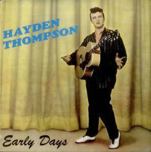 Cover - Hayden Thompson: Early Days