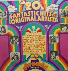 Cover - Piglets, The: 20 Fantastic Hits By The Original Artists