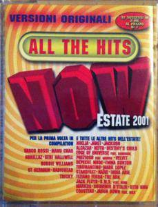 Cover - Jason Downs: NOW - All The Hits - Estate 2001