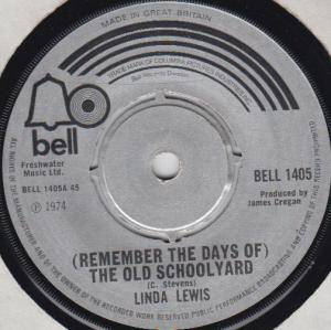 Cover - Linda Lewis: (Remember The Days Of) The Old Schoolyard