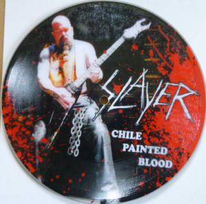 Slayer: Chile Painted Blood - Cover