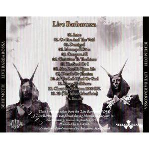 Behemoth: Live Barbarossa (CD) - Bild 5