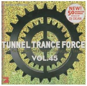 Cover - Silver Liquid: Tunnel Trance Force Vol. 45