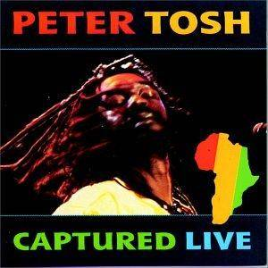 Peter Tosh: Captured Live - Cover