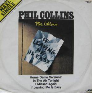 Phil Collins: If Leaving Me Is Easy - Cover