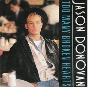 Jason Donovan: Too Many Broken Hearts - Cover