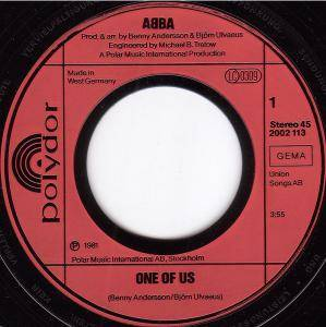 "ABBA: One Of Us (7"") - Bild 2"