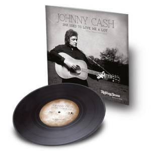 "Johnny Cash: She Used To Love Me A Lot [The Haunted Mix] (7"") - Bild 8"