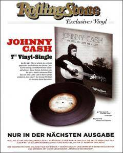 "Johnny Cash: She Used To Love Me A Lot [The Haunted Mix] (7"") - Bild 9"