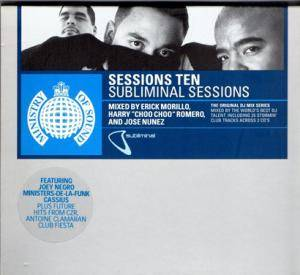 Cover - Sandy Rivera: Subliminal Sessions: Session Ten