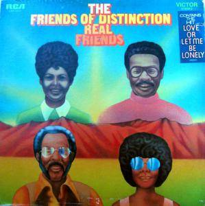 Cover - Friends Of Distinction, The: Real Friends