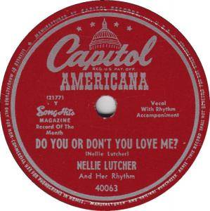 Cover - Nellie Lutcher: Do You Or Don't You Love Me?