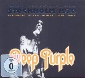 Deep Purple: Live In Stockholm 1970 - Cover