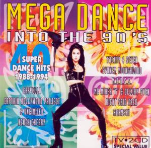 Mega Dance Into The 90's - Cover
