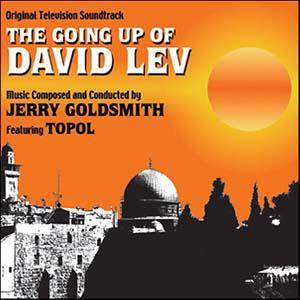 Jerry Goldsmith: Going Up Of David Lev, The - Cover