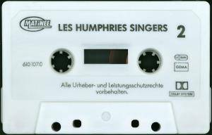 The Les Humphries Singers: Greatest Hits - The Les Humphries Singers (Tape) - Bild 4