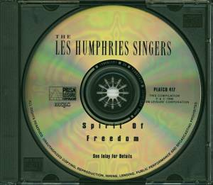The Les Humphries Singers: Spirit Of Freedom (CD) - Bild 5