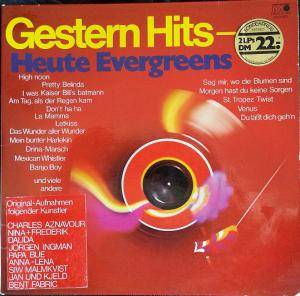 Cover - Papa Bue: Gestern Hits - Heute Evergreens