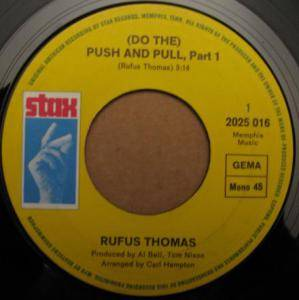 Cover - Rufus Thomas: (Do The) Push And Pull